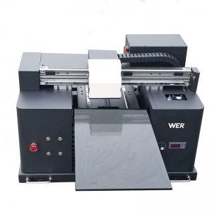 2018 UV led štampač štampača a4 dtg t shirt logo print WER-E1080T