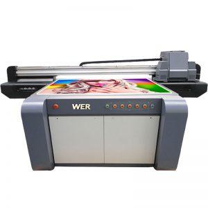3D efekat UV ravnog štampača, keramičkog štampača, štampača u Kini WER-EF1310UV