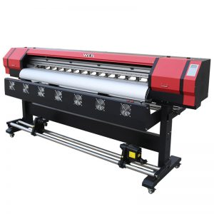 6 stopa Štampanje Video WER-ES1901 DX5 / DX7 glava eko solventni štampač u kineskom dobavljaču