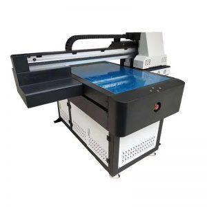A1 UV štampač Digitalna 6090 ravna UV štamparska mašina sa 3D efektom / Štampanje lakova