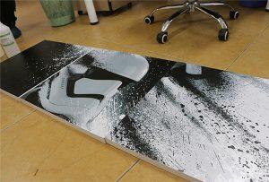 Bilbord odštampan od strane WER-G2513UV UV štampača velikog formata