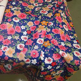 Primer digitalnog tekstila za štampu pomoću digitalnog tekstilnog štampača WER-EP7880T