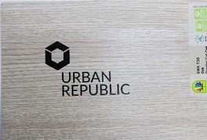 Logo štampanje na drvetu od strane WER-D4880UV 2