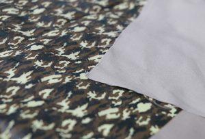 Uzorak za štampu od tekstila 1 pomoću digitalne tekstilne mašine za štampanje WER-EP7880T