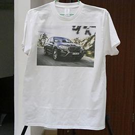 Bela majica štampa uzorak A3 majica štampača WER-E2000T 2