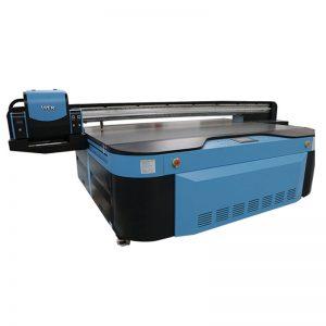 2,5m * 1,3m veličina štampe 3D reljefni industrijski Led UV štampač za metal, drvo, staklo, keramika, ploča, akril, pvc,